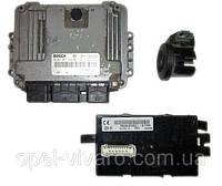 Блок управления двигателем комплект 1.9 DCI NISSAN PRIMASTAR 00-14 (НИССАН ПРИМАСТАР)