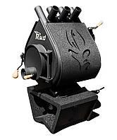 Опалювальна конвекційна піч Rud Pyrotron Кантрі 00 з декоративною обшивкою (чорна, коричнева, бордова), фото 1