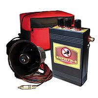 Відлякувач птахів акустичний Шуліка-8 з двома динаміками (площа захисту 10 Га), фото 1