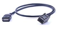 Автомобильный USB AUX кабель провода адаптер аудио медиа музыка интерфейс для Mitsubishi Outlander ASX 2009 и , фото 1