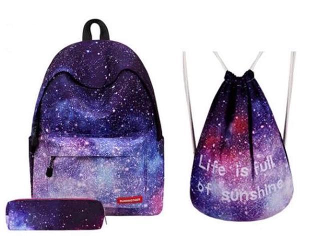 Сумка галактика фото с рюкзаком