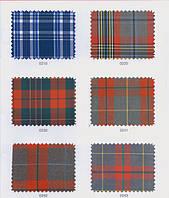 Хлопок Поливискон Шотландка (Stabitex)