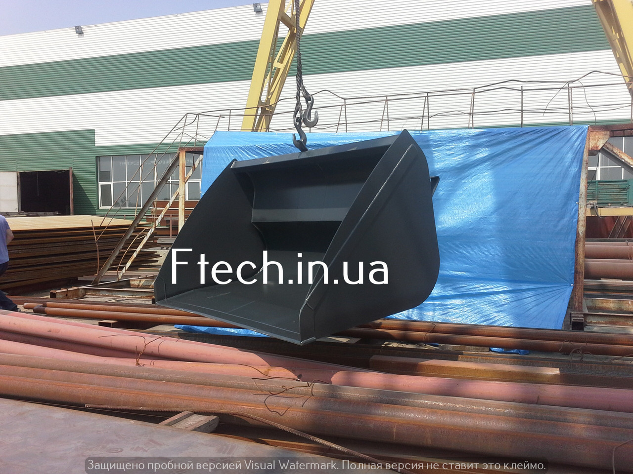Ковш на телескопический погрузчик Manitou, JCB, CLAAS, BobCat, Massey Ferguson 2.5м³