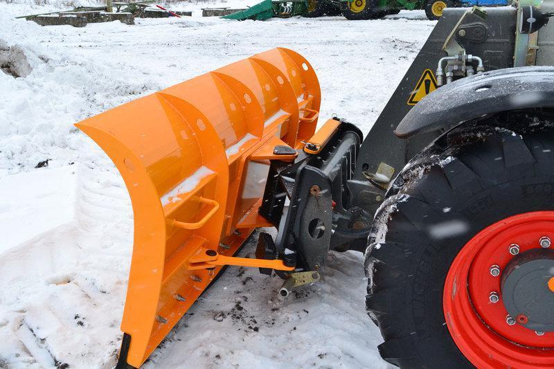 Отвал для снега на телескопический погрузчик