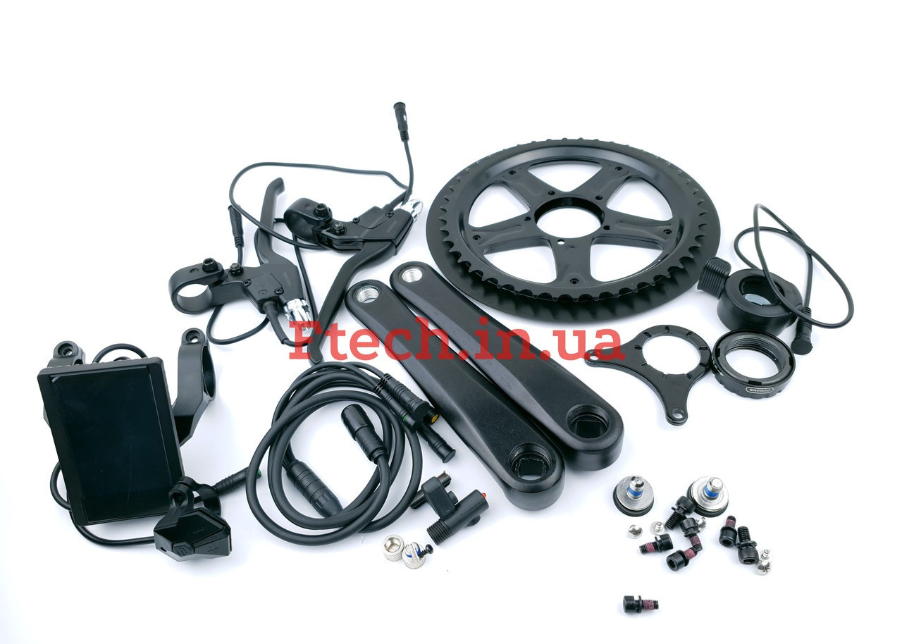Электромотор Bafang BBS02 48V 750W дисплей 850C электрический комплект для велосипедов