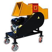 Подрібнювач гілок до 100 мм з бензиновим двигуном 16к.с.