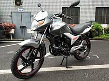 Мотоцикл Hornet R-150 (150куб/м), мокрый асфальт