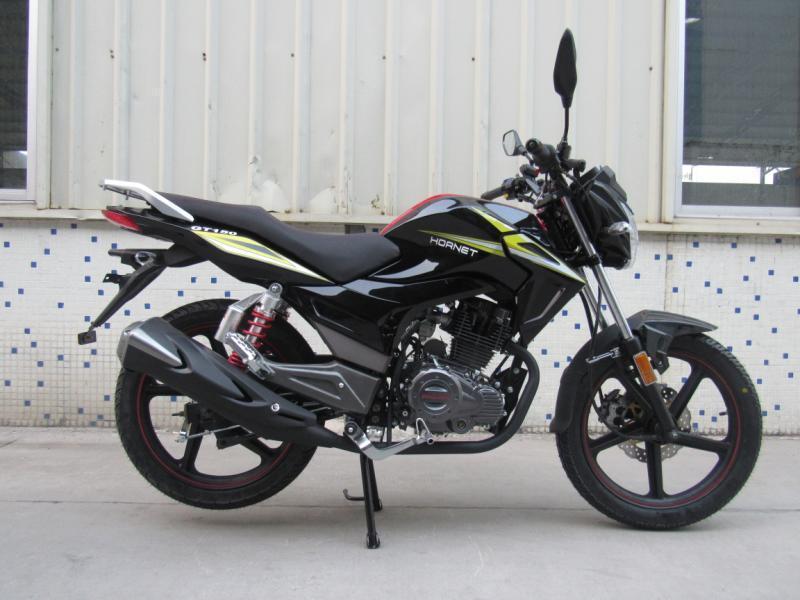 Мотоцикл HORNET GT-150 (150куб.см), черный
