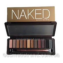 Палетка теней для век Naked Kiss Crown Urban Decay (12 цветов/набор)