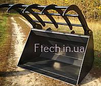 Ковш с захватом на телескопический погрузчик, фото 1