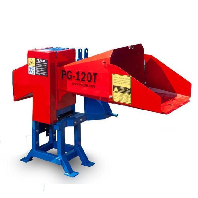 Подрібнювач гілок 120 мм тракторний під ВМО від 25 л. з