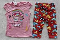 Детская одежда оптом Турция.Туника+бриджи 5,6 лет