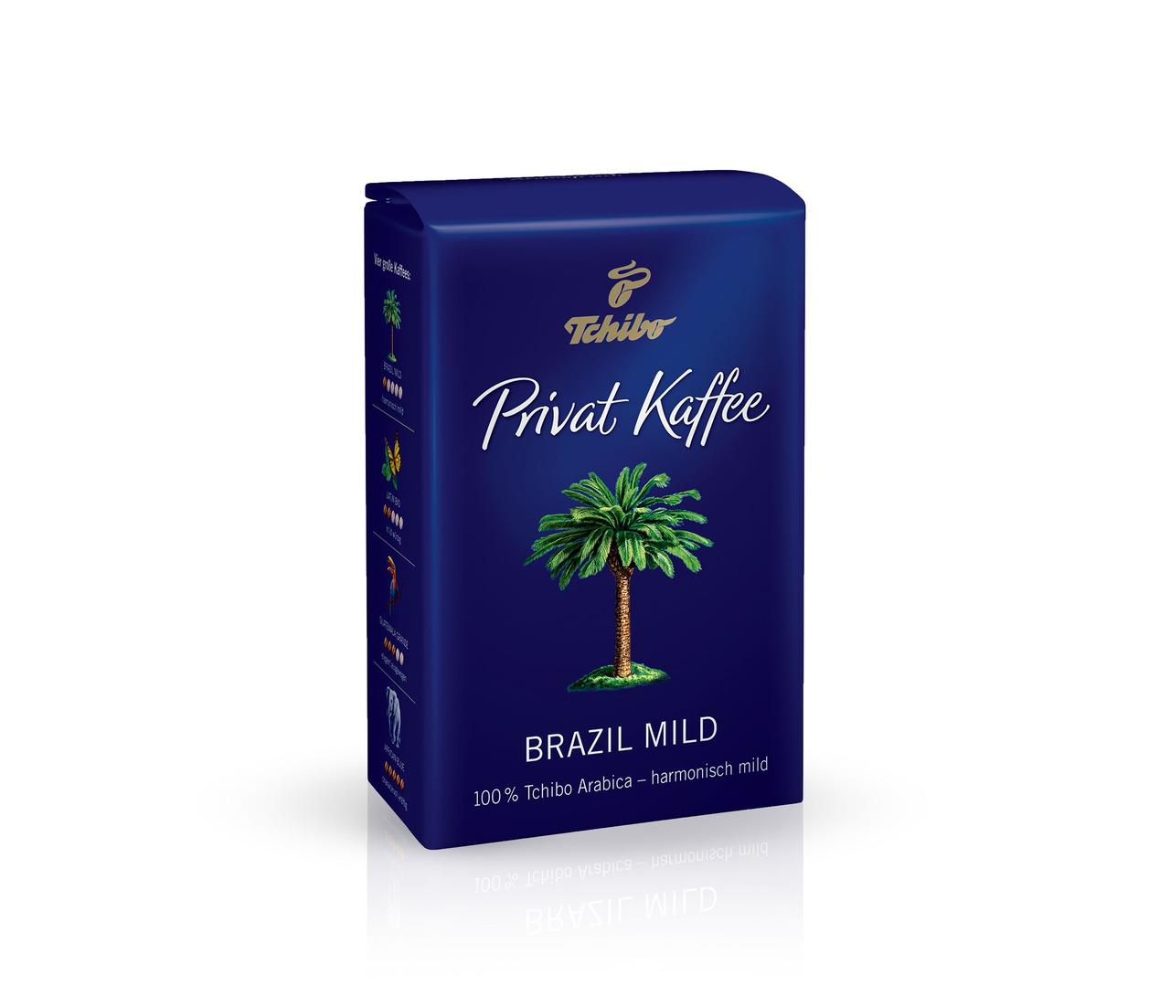 Кава мелена Private Coffee Brazil Mild Tchibo 250 гр.