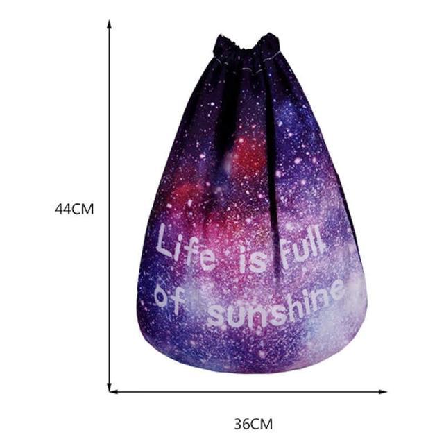 Сумка галактика фото 5 с рюкзаком