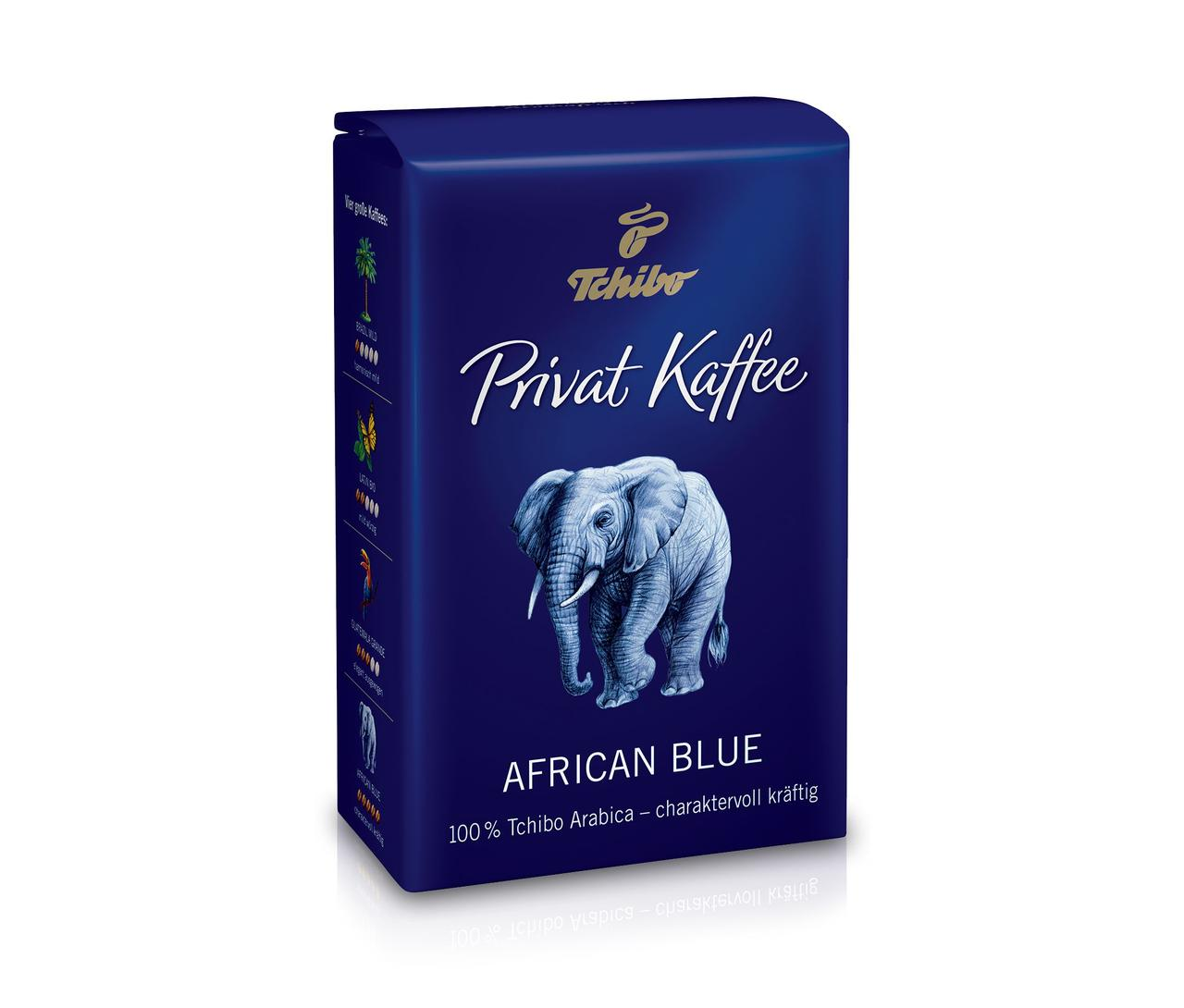 Кава мелена Private Coffee African Blue Tchibo 250 гр.