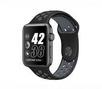 Ремешок Apple Watch 38/40mm Nike black/grey, фото 3