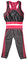 🔝 Костюм для фитнеса (Copper) одежда для спортзала Yoga Wear Suit Slimming фитнес костюм для спорта | 🎁%🚚