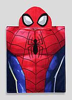 Детское полотенце-пончо для мальчика Spider-Man, фото 1