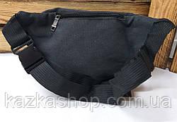 Бананка, сумка на пояс, барыжка из плотного непромокаемого материала, брезента, 4 отдела, фото 2