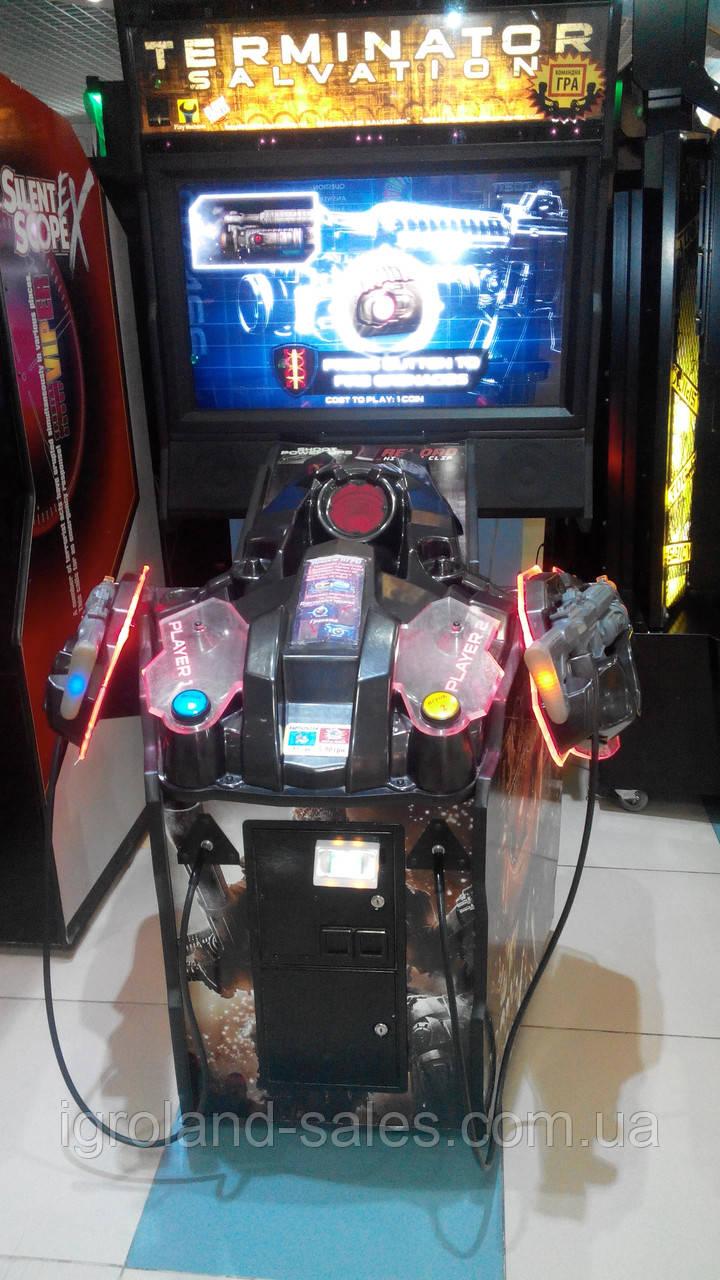 Игровое автоматы терминатор игровые автоматы тузы играть бесплатно
