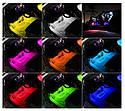 Светодиодная LED подсветка в салон автомобиля на пульте управления 9 диодов (8 цветов) мерцает в такт музыки!, фото 8
