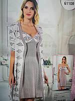 6e8ec37256ec402 Комплект ночная сорочка и халат в Харькове. Сравнить цены, купить ...