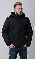 Куртка мужская весенняя комуфляж Aziks м-067 черная 56