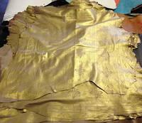 Кожа одежная овчина Venezia золото, фото 1
