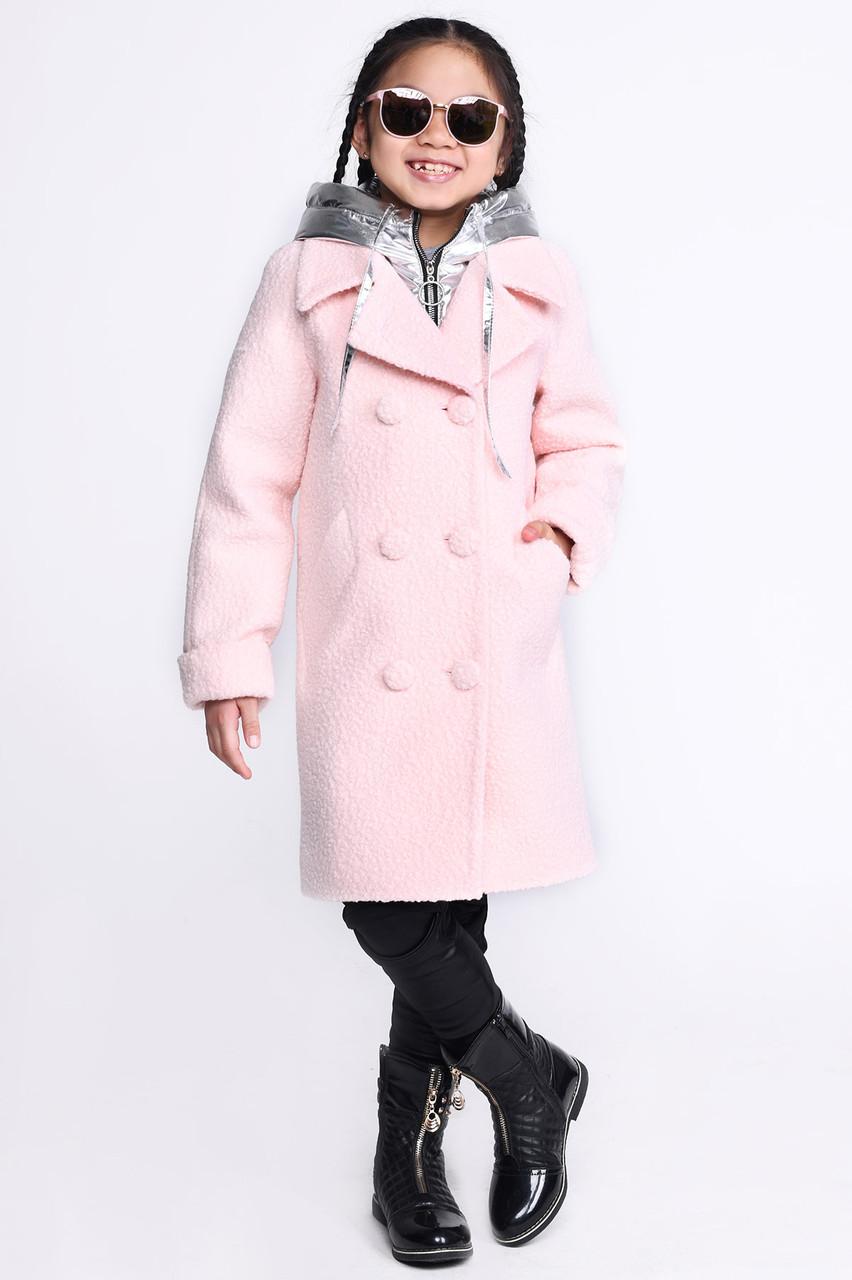 46e36e458b1 Детское демисезонное пальто на девочку из букле  продажа
