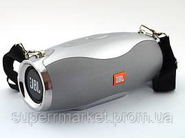 JBL Xtreme 5 XW-04 копия, портативная колонка 10W с Bluetooth FM и MP3, серебряная, фото 3