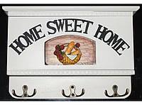Деревянная ключница с выдвижной панелью KC7008C, шкаф для хранения ключей, настенная ключница счастья в дом