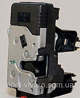 Замок двери (механизм) боковой правый RENAULT TRAFIC 00-14 (РЕНО ТРАФИК)