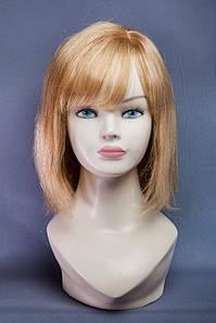 Натуральный парик, цвет пшеничный