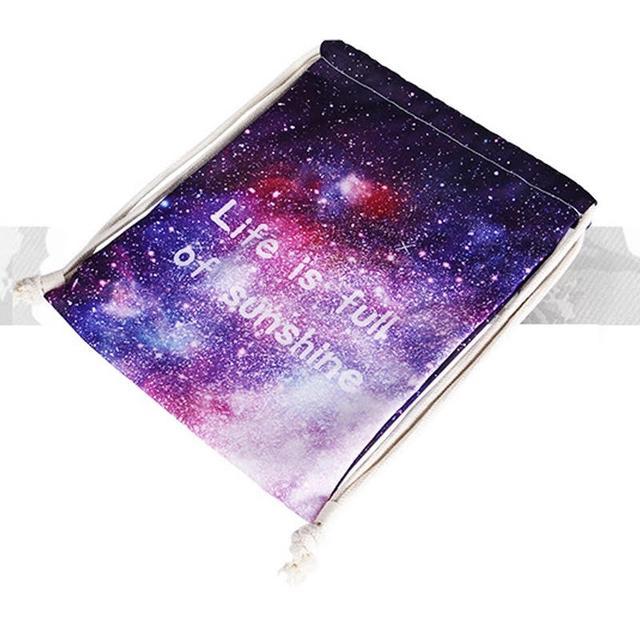 Сумка галактика фото 6 с рюкзаком