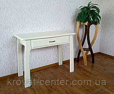 """Белый туалетный столик из массива натурального дерева """"Для королевы"""""""