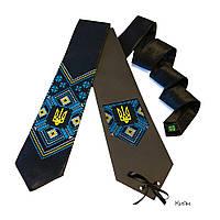 """Атласный галстук с вышивкой """"Киян"""", фото 1"""