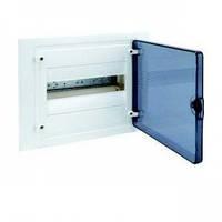 Щит распределительный на 12 модулей, прозрачная дверца, GOLF Hager (VF112TD), фото 1