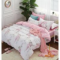Полуторный комплект постельного белья сатин tl 171573