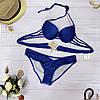 Купальник женский синего цвета