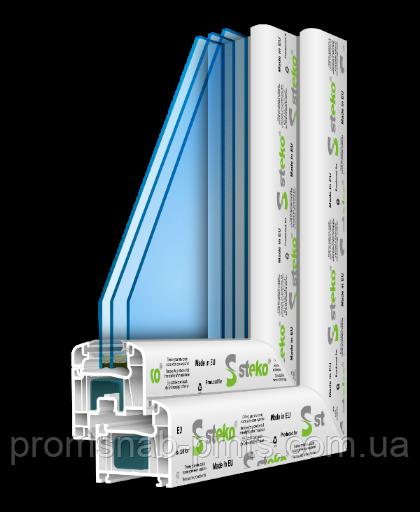 Металлопластиковые окна Steko R 500