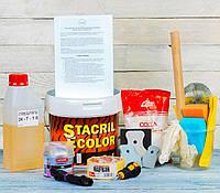 Набор для реставрации ванны с жидким акрилом Stacril ecolor, ТМ Просто и Легко 1,7 м - 146057