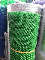 Сетка садовая пластиковая ,заборы.Ячейка 10х12 мм,рул 1х20м