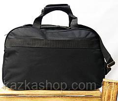 Дорожная сумка хорошего качества, среднего размера 46х28х20 см, плотный материал, ножки на дне сумки, фото 2