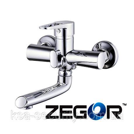 Смеситель для ванны ZEGOR PUD3-A045 (Зегор)