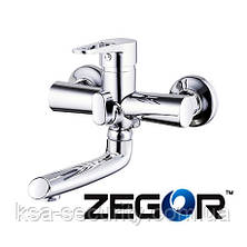 Смеситель для ванны ZEGOR PUD3-A045 (Зегор), фото 2
