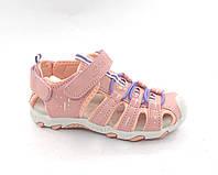 Босоніжки дівчинці спортивні усиленым носком р. 27 - 33 модель 280-8, фото 1