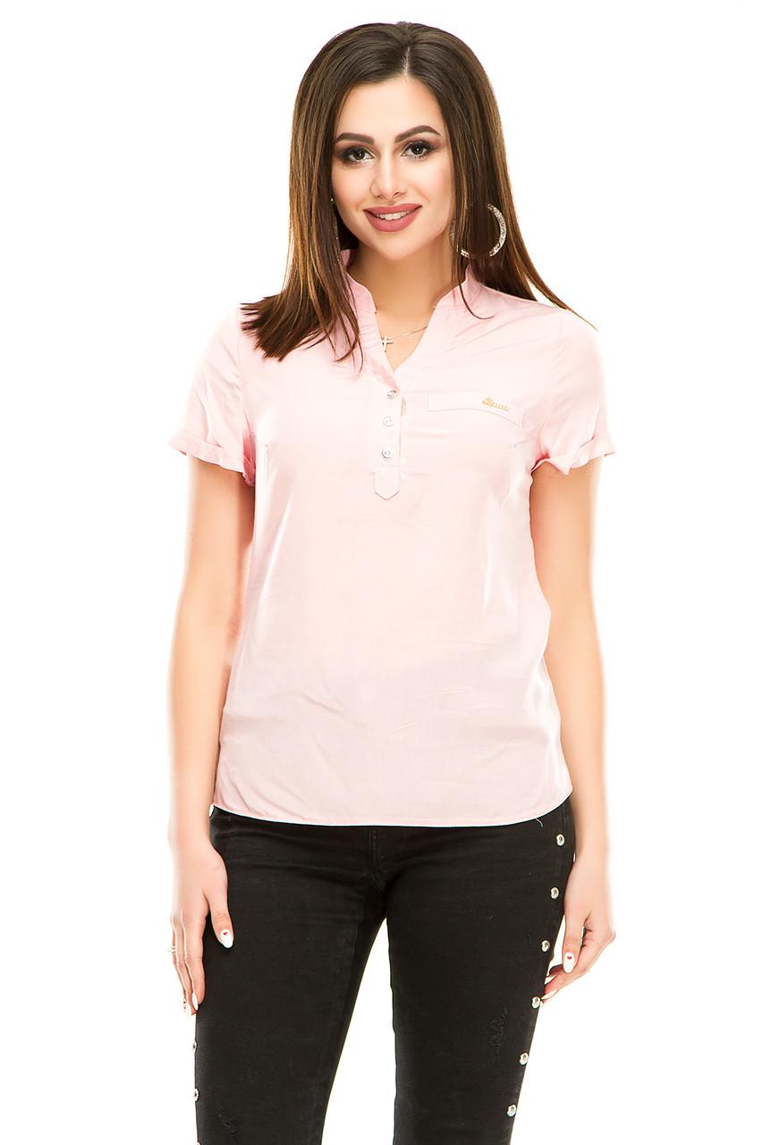 Блузка 299 розовая