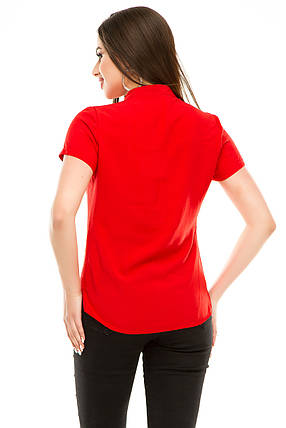 Блузка 299 красная, фото 2