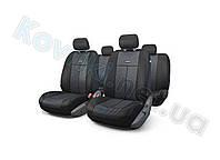 Чехлы на сиденья в салон Mitsubishi Lancer X(2007-) (об.2,0), Nika