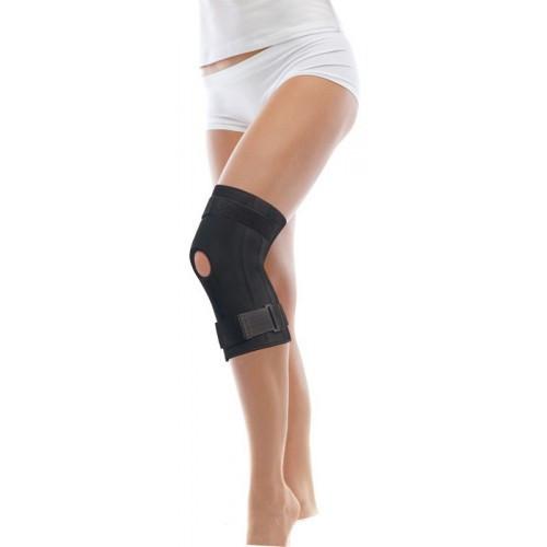 Бандаж на колінний суглоб з ребрами жорсткості на шарнірах, неопреновий, тип 511